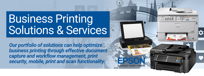 Epson Printing Solutions - Now Available at NewWave!