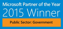 Microsoft Partner of the Year: 2015 Winner -- Public Sector: Government
