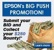 Submit your Epson bid, collect $250!*...