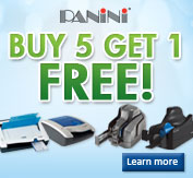Buy 5 Panini Scanners, Get 1 Free!...