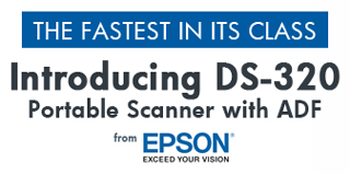Introducing the NEW Epson WorkForce DS-320